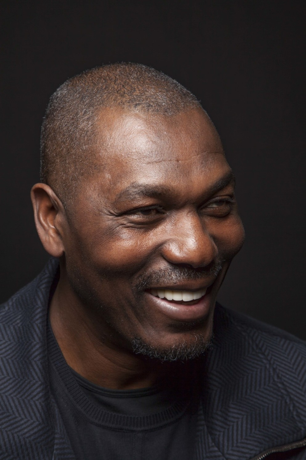 Hakeem Olajuwon At Pastorini Bosby Talent Agency Houston Texas